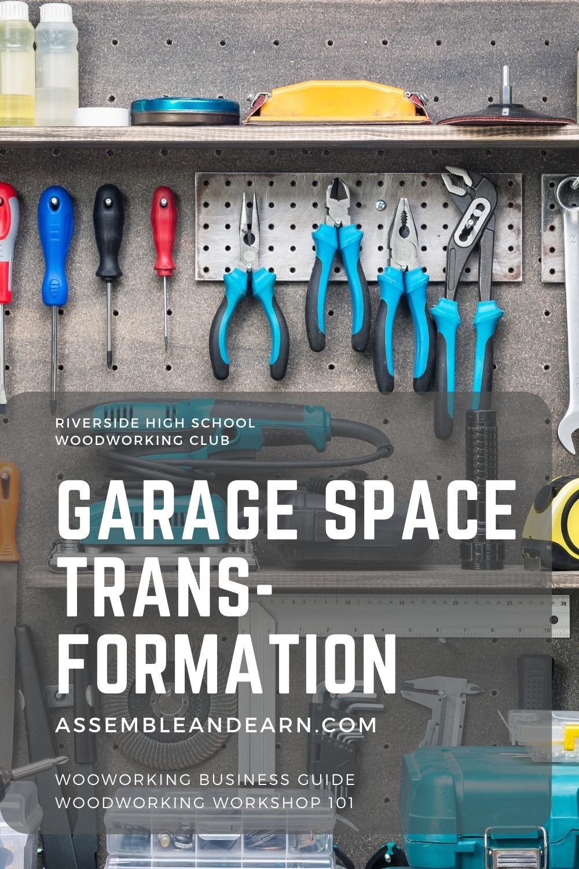 Garage wooodworking