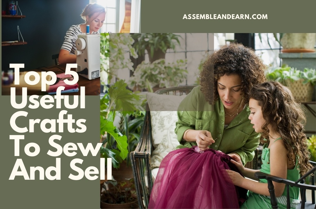 5 Most Useful Sewing Projects to Make and Sell