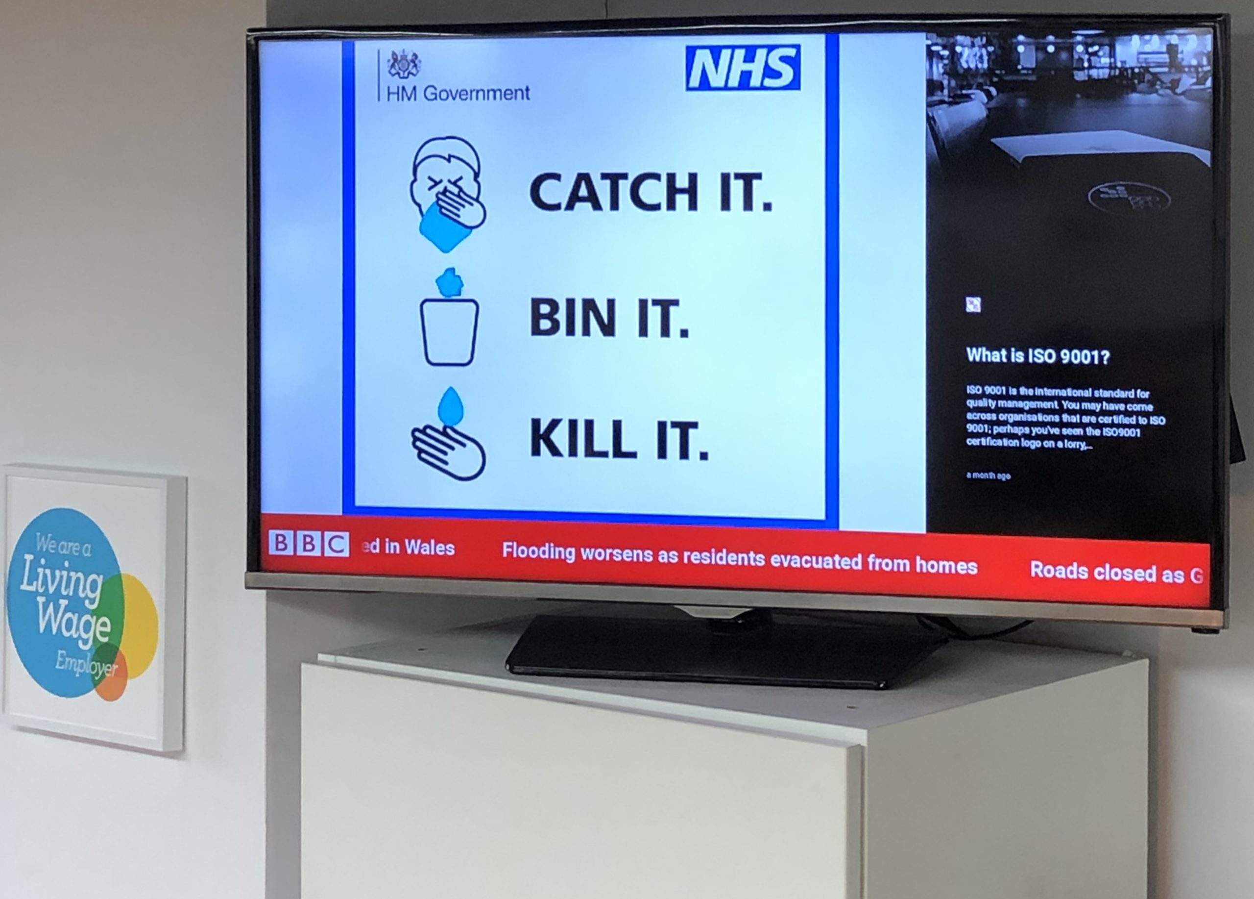 Digital Signage For Compliance