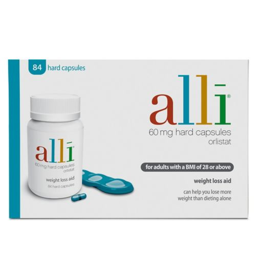 Alli 60mg Hard Capsules 84 Tablets Pack