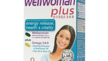 Vitabiotics Wellman Plus Omega 3 6 9 Tablets 56 Tablets Asset