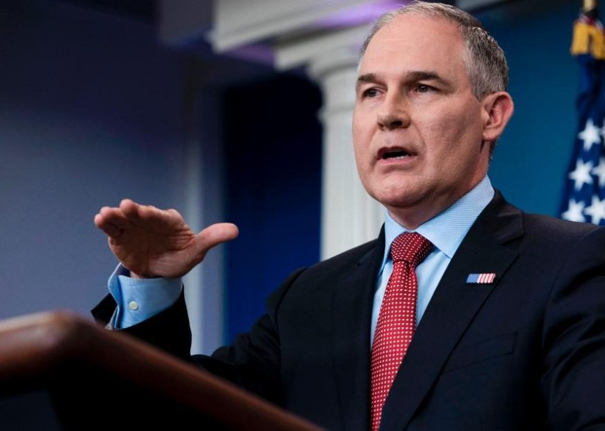 Pruitt announces withdrawal of Clean Power Plan