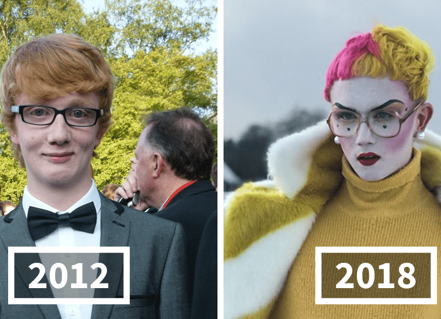 20+ Incredible #2012vs2018 Transformations Prove People Can Become Totally Unrecognizable In Just 6 Years