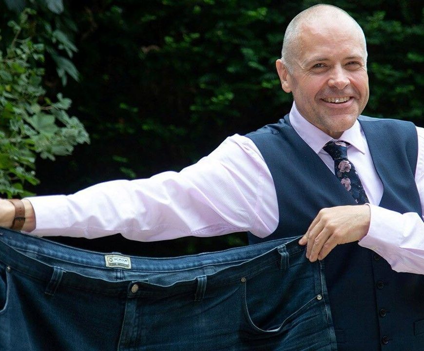 Man loses 280 pounds in two years after walking 6,000 miles