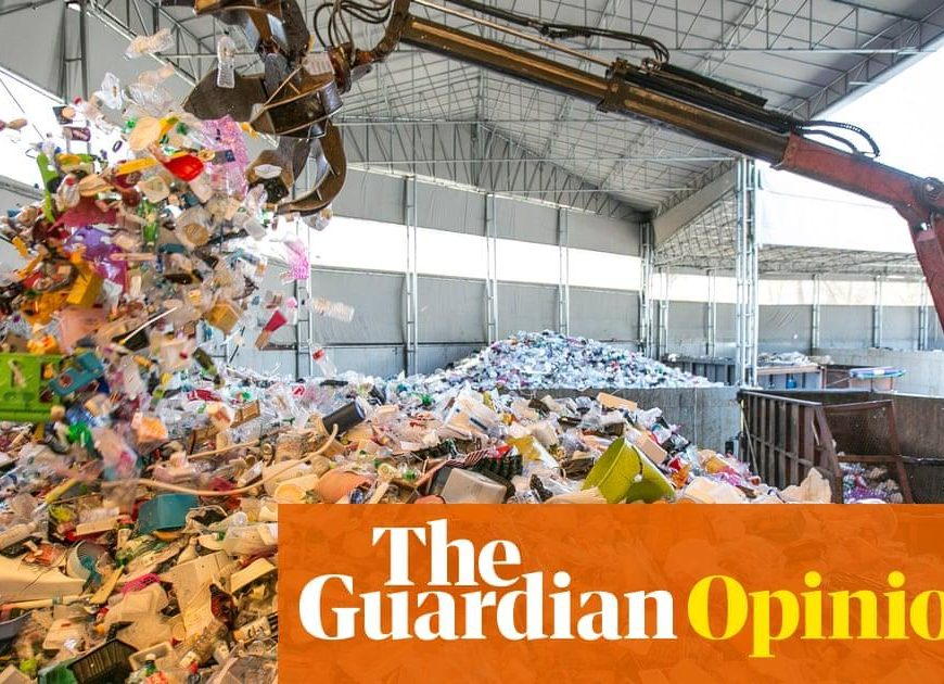 Upset about the plastic crisis? Stop trying so hard
