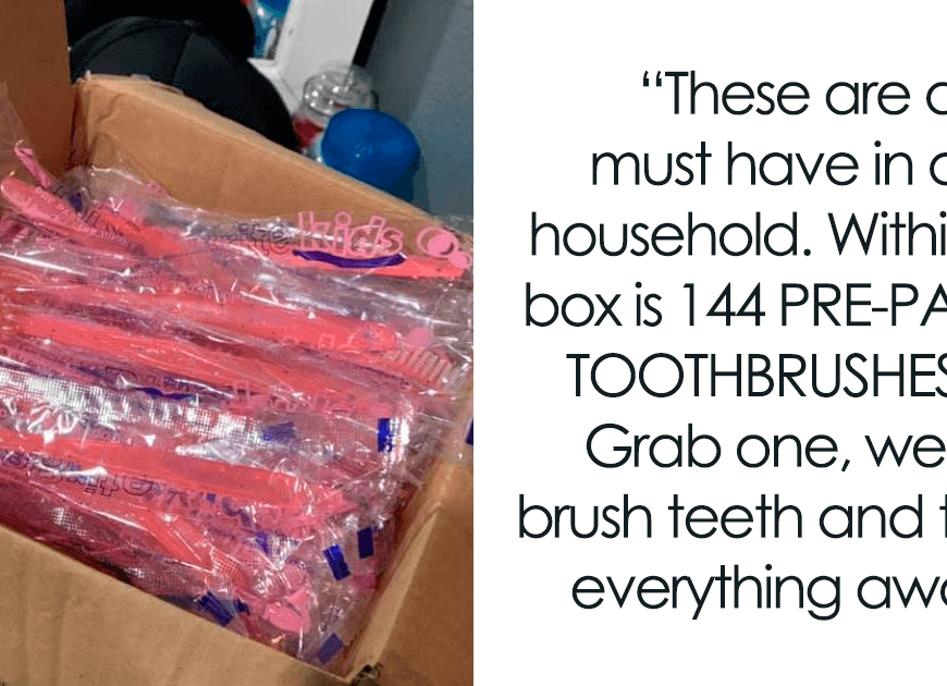 People Are Disgusted With How Wasteful This Woman Is With Her Use Of Pre-Pasted Toothbrushes