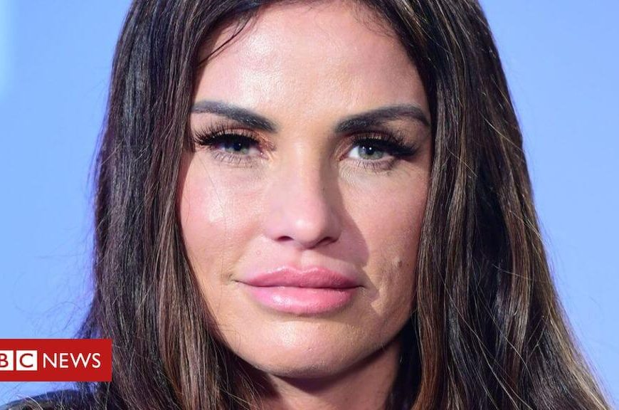 Katie Price declared bankrupt at High Court