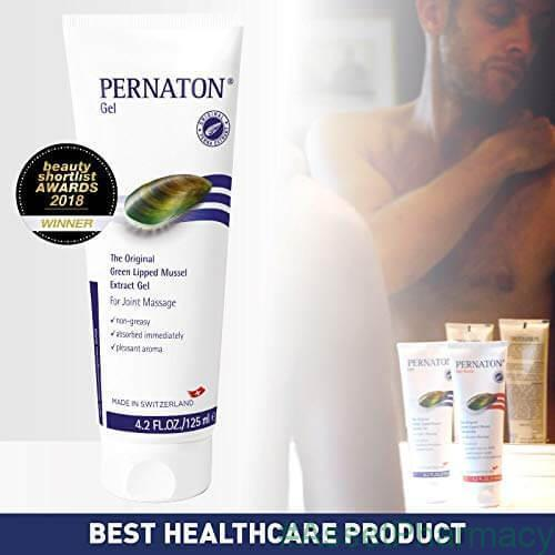 Pernaton Green Lipped Mussel Gel 250ml