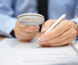 asset search due diligence ASSET SEARCH DUE DILIGENCE it is imperative to conduct an asset search in order to satisfy your due diligence on behalf of your client 1 300x251