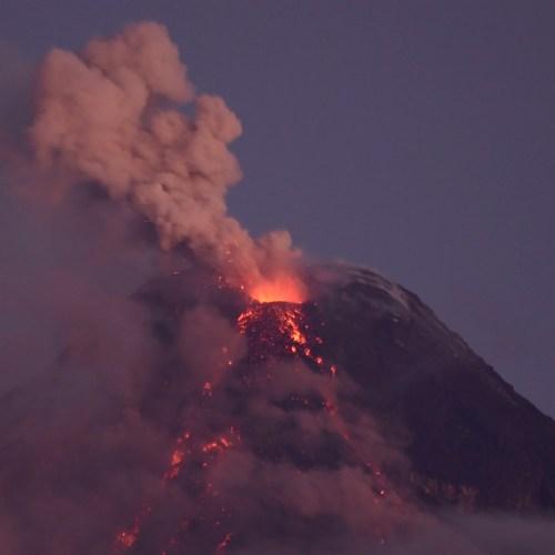 Natura, spettacolo, eruzione