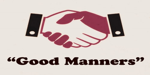 Good Manners Assignment Point