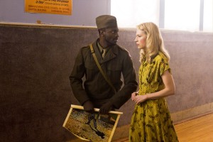 "Aldis Hodge and Beth Riesgraf in LEVERAGE - Season 4 - ""The Van Gogh Job"" | ©2011 TNT"
