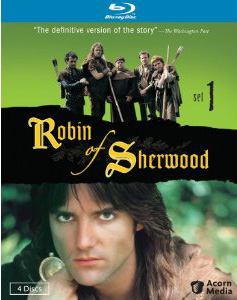 ROBIN OF SHERWOOD Blu-ray box art