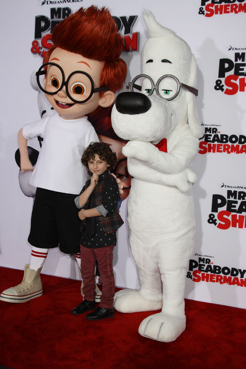 Exclusive Photos From The Holly WOOF MR PEABODY AND