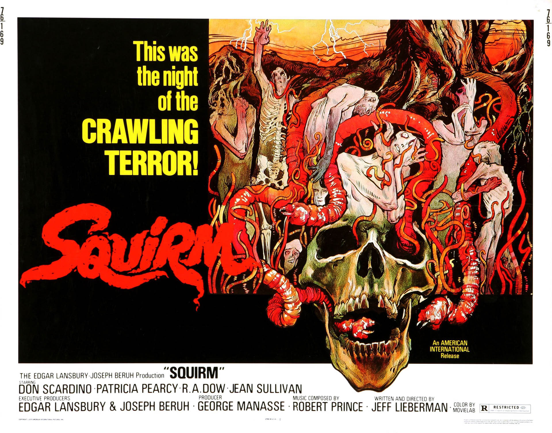Blu Ray Review SQUIRM COLLECTORS EDITION Assignment X