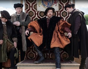 Damian Lewis stars as King Henry VIII on the PBS series WOLF HALL | © 2015 PBS