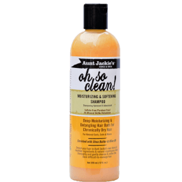 Aunt Jackie's Curls & Coils Oh So Clean Moisturizing & Softening Shampoo 355ml