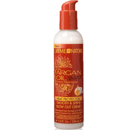 Creme Of Nature Argan Oil Heat Protector Blow Out Cream 226ml