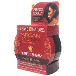 Creme of Nature Argan Oil Perfect Edges Dark Brown 64gr