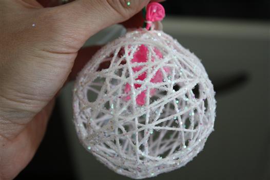 desprender o balão da corda