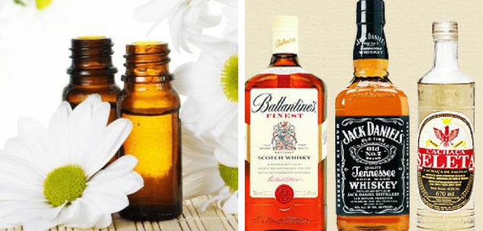 varios produtos destilados