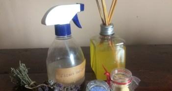 ambientador a spray seco e varetas