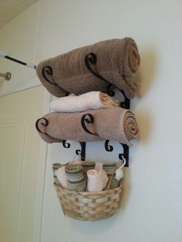 ganchos para toalhas