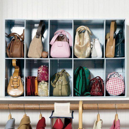armazenar bolsas