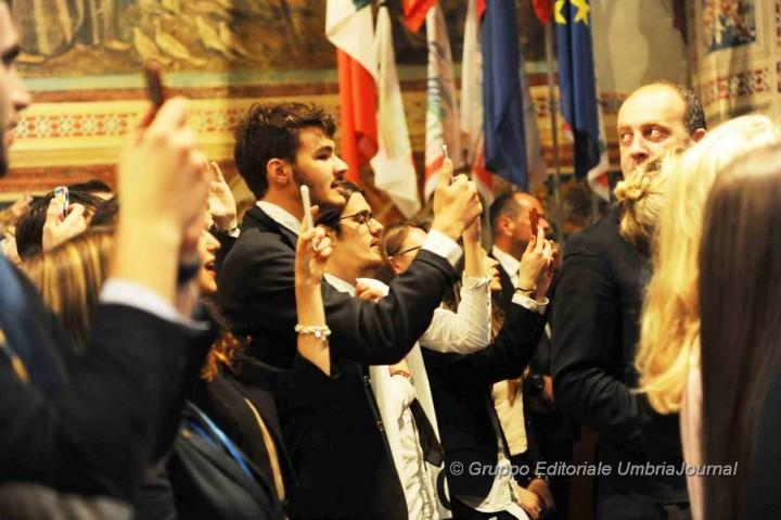 Silvio BERLUSCONI ad Assisi (16)