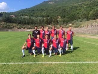 Assisi calcio festeggia la prima vittoria stagionale batte San Marco Juventina nella seconda giornata di coppa di Promozione hanno vinto 1-0