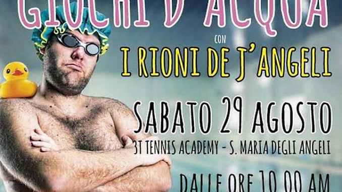Giochi d'Acqua de I Rioni de J'Angeli al 3T Tennis Academy