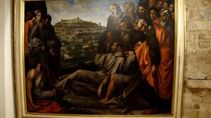 La tela San Francesco di Cesare Sermei torna a risplendere