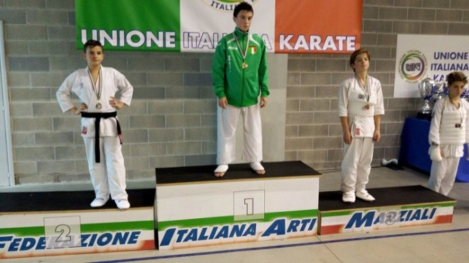 Karate, bottino di metalli preziosi al Campionato Italiano Assoluto Unika