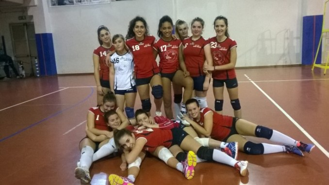 Buona prestazione per l'Assisi Volley blu
