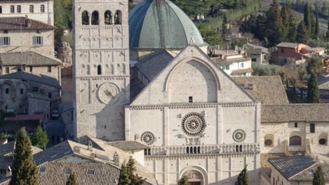 Assisi, messa del mercoledì delle Ceneri a San Rufino
