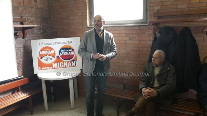 """Elezioni Assisi, Mignani sindaco: """"In viaggio verso Assisi"""""""