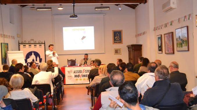Meetup Assisi 5 Stelle, assemblea piacevole e ricca di contenuti