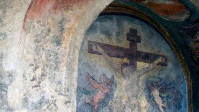 """L'edicola """"ritrovata"""" ad Assisi, presentazione dopo restauro"""