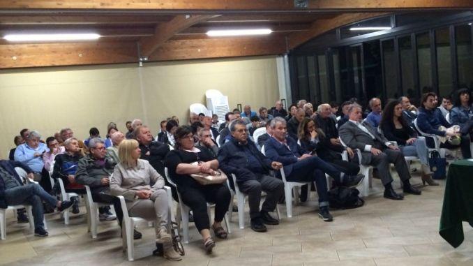 Antonio Lunghi ha incontrato i cittadini di Rivortorto