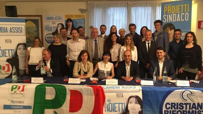 Elezioni Assisi, Stefania Proietti, un programma giusto e serio