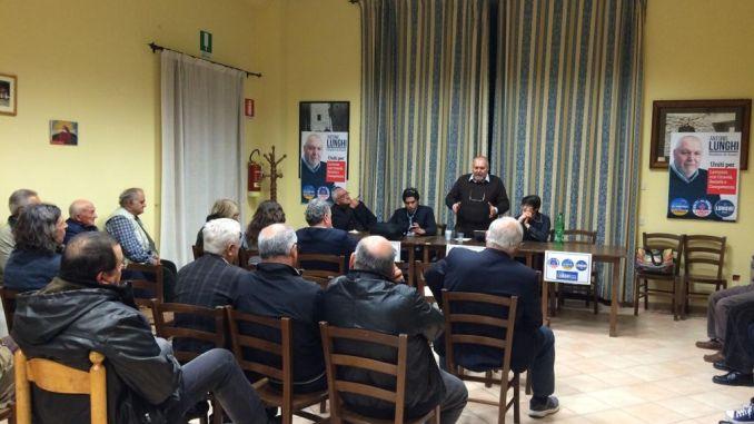 Antonio Lunghi ha incontrato i Cittadini di Porziano