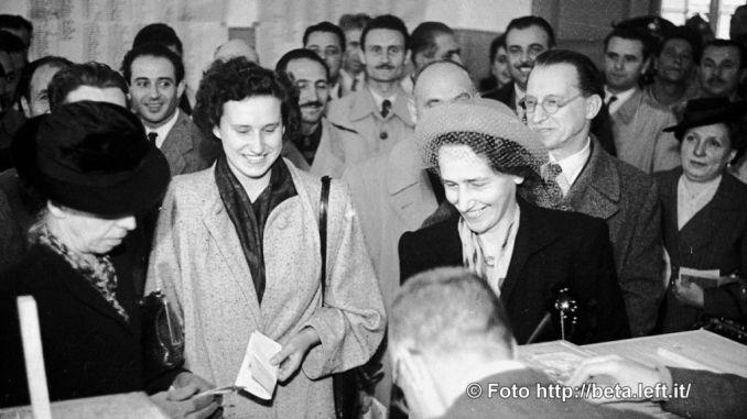 1946-2016 dalla conquista del voto alla prima donna sindaco di Assisi