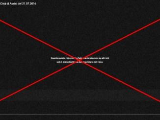 Diretta streaming del Consiglio Comunale Assisi vietata ai siti web