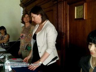Primo consiglio ad Assisi, Donatella Casciarri eletta presidente [LA DIRETTA]