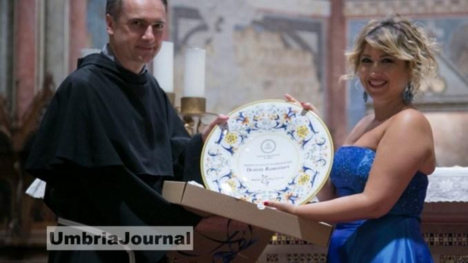 Intervista con Desirée Rancatore che si racconta ad Assisi Pax Mundi