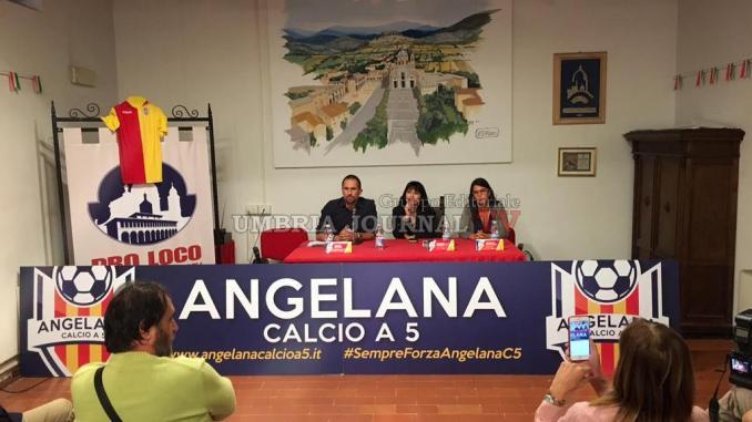 Santa Maria, presentata nuova stagione 2016/2017 dell'Angelana Calcio a 5