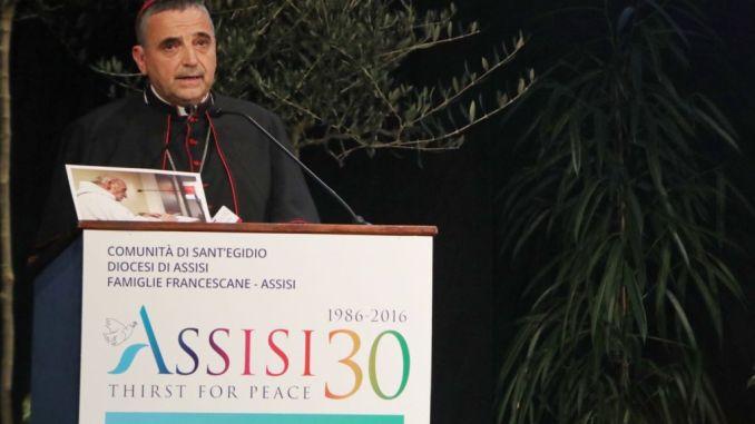 Dominique Lebrun, ad Assisi, martirio non è bandiera per combattere