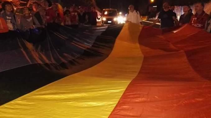 Marcia PerugiAssisi notturna contro la violenza e l'indifferenza