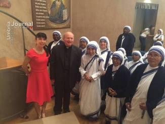 Assisi omaggia Madre Teresa di Calcutta nel giorno della canonizzazione