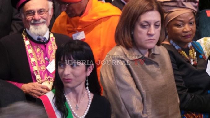 Spirito di Assisi, Catiuscia Marini: «Grazie Presidente Mattarella»